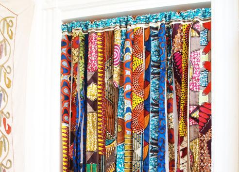 Tendance Pour Le Salon Tissus Wax Pour La Decoration
